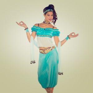Princess Jasmin (Aladdin) Costume